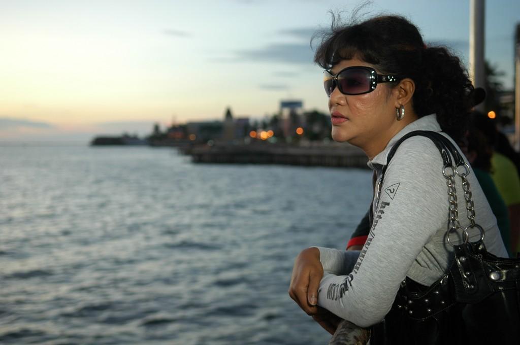 Suharni by the sea